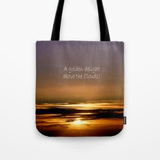 Golden Delight Tote Bag