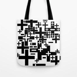 PLUS/MINUS Tote Bag