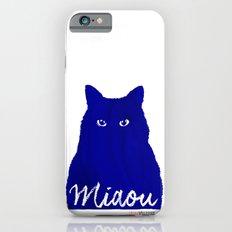 MIAOU bleu Slim Case iPhone 6s