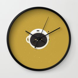 The Spaceman on the Sun Wall Clock