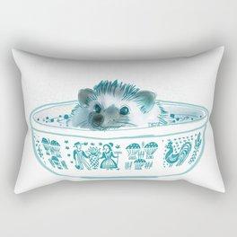 Hedgehog Hot Tub #2 Rectangular Pillow