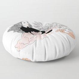 Lovely ballerina Floor Pillow