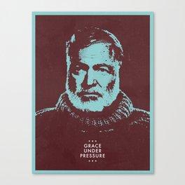 Grace Under Pressure Canvas Print