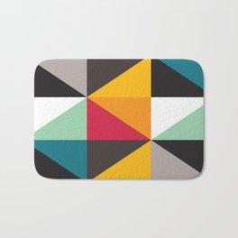 Geometric Pattern #30 (triangles) Bath Mat