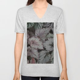 Leaf textures in group Unisex V-Neck