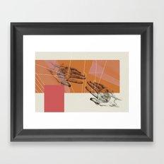 HUMAN RACE / HANDS Framed Art Print
