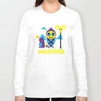 skeletor Long Sleeve T-shirts featuring SKELETOR by Maioriz Home