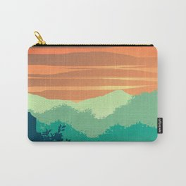 Mt Cheaha Sunset Carry-All Pouch