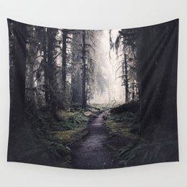 Magical Washington Rainforest Wall Tapestry