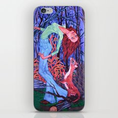 Midnight Dance with an Otter iPhone & iPod Skin