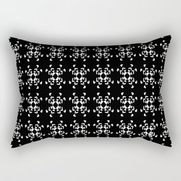La Vida en Blanco y Negro 2 Rectangular Pillow