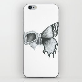 Skull and Butterfly iPhone Skin