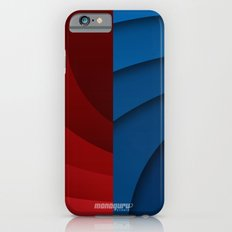 Red and blue color gradient Slim Case iPhone 6s