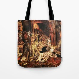 Demons attack!! Tote Bag