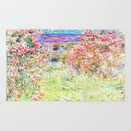 MONET : The House Among the Roses Rug
