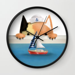 Oblivious Mouse Wall Clock