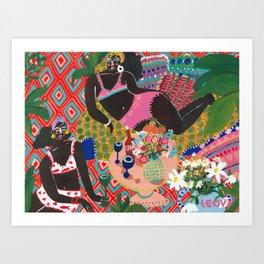 Bohemian Dreamin´ Art Print