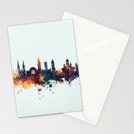 Helsinki Finland Skyline Stationery Cards