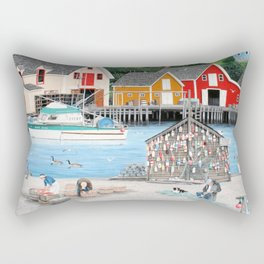 Fisherman's Cove Rectangular Pillow