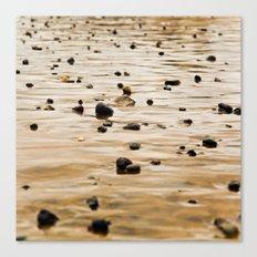 Pebbles Canvas Print