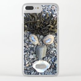 "EPHE""MER"" # 273 Clear iPhone Case"