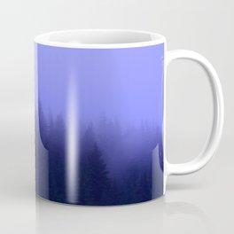 Periwinkle Fog 0367 - Seward, Alaska Coffee Mug