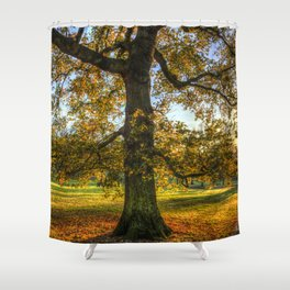 Autumn in Greenwich Park London Shower Curtain