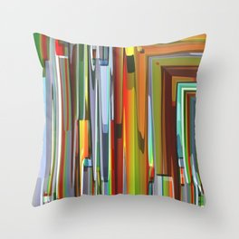 Abstract Composition 706 Throw Pillow