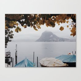 November in Lugano Canvas Print