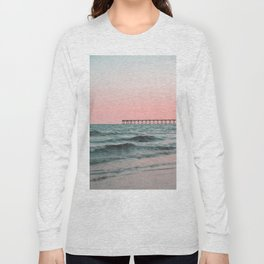 Pink Ocean Long Sleeve T-shirt