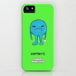 Grumpyfurrrts iPhone Case