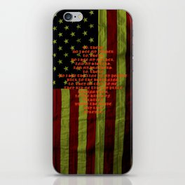 American Viking iPhone Skin