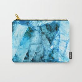 Blue crystal Carry-All Pouch