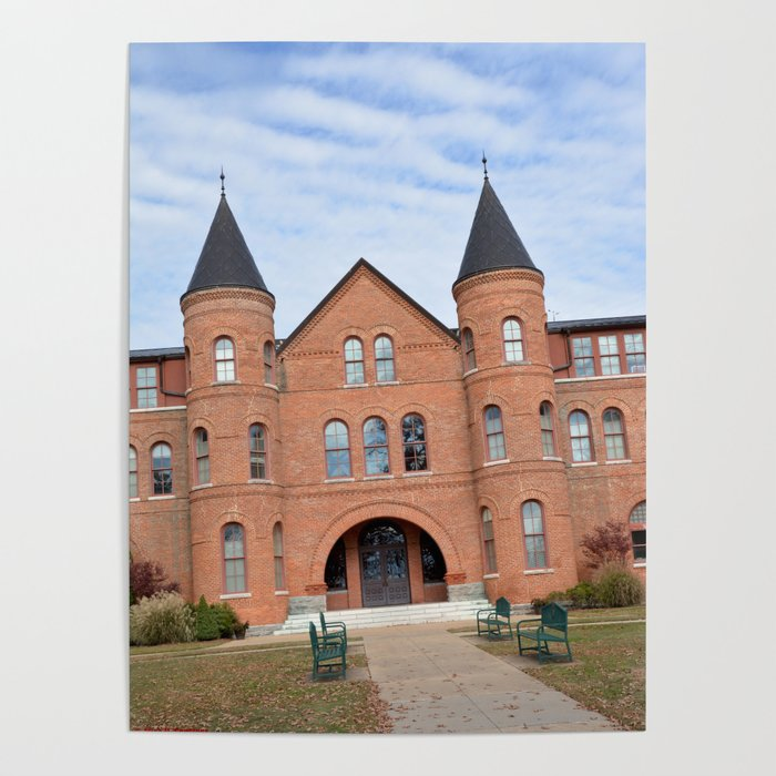 Northeastern State University - Seminary Hall, No. 5 Poster