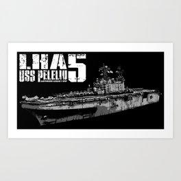 USS Peleliu (LHA-5) Art Print