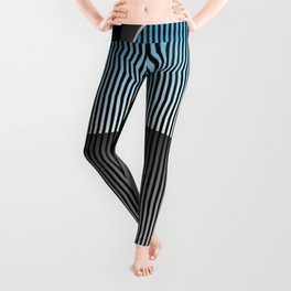 1930s Style Street Rod Car Grill Leggings
