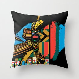 internationally known Throw Pillow