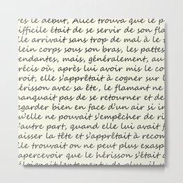 Alice Au Pays Des Merveilles Metal Print
