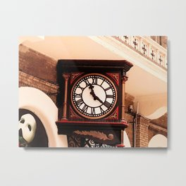 Charing Cross Clock Metal Print