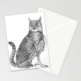 Domestic Gryphon Stationery Cards