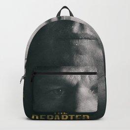 The Departed, Martin Scorsese movie poster, Leonardo DiCaprio, Matt Damon, american mafia film Backpack