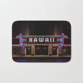 Hawaii Theater Bath Mat