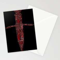 Shakespeare's Macbeth  Stationery Cards