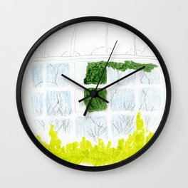 Glasshouse Wall Clock