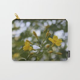 Shaded Carolina Jessamine Carry-All Pouch