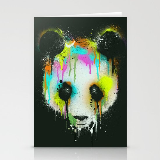 Technicolour Panda Stationery Cards