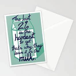 The Last 2% Stationery Cards