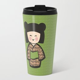 Geisha Dress Code (green) Travel Mug