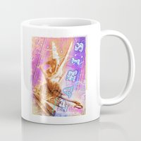 posters Mugs featuring Paris Posters - Cupid + Psyche by G_Stevenson