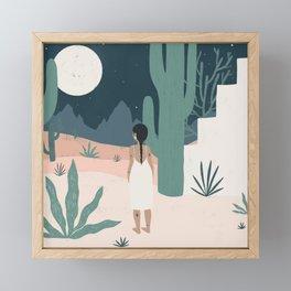 sonoran siren Framed Mini Art Print